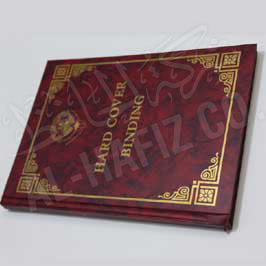 Hard Cover Binding - Hot Foil Stamping (Golden)