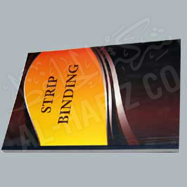 Strip Binding - Slide Binder Strip