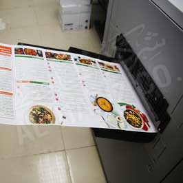 Long Brochures Printing Double Side