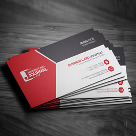 Full Color Printed Business Cards Tri Color