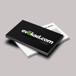 Full Color Printed Business Cards Vokad