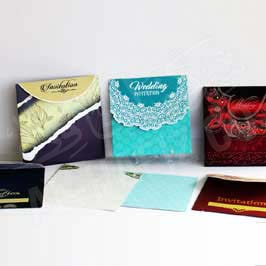 Fancy Invitation Cards - Assorted