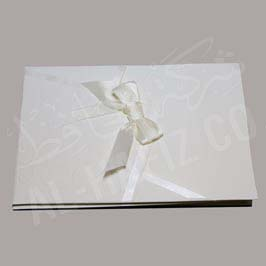 Invitation Card Ribbon Bow