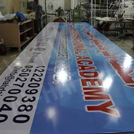 Large Format Printing signboard