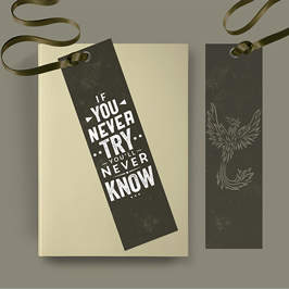 Customized Bookmarks with Ribbon