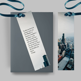 Famous Quotes Personalized Bookmarks
