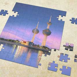 Customized Puzzle - Kuwait Towers