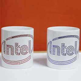Spangle Mugs - Intel(Blue/Red Logo)