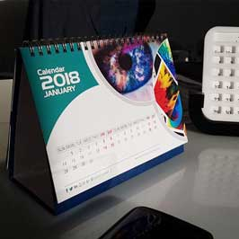 Digital Printed Table Calendar