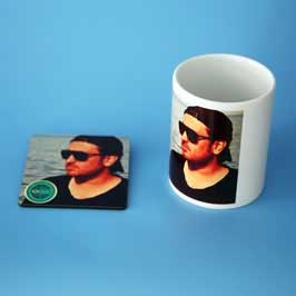 Mug & Tea Coaster - Custom Print