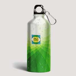 Full Color Printed Water Bottle - Corporate Branding