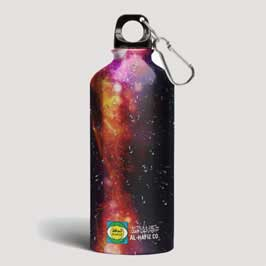 Full Color Printed Water Bottle - Multi