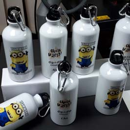 Aluminum Bottle - Minion