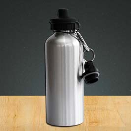 Aluminum Bottle - Silver