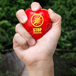 Covid-19 Awareness Message Stressball