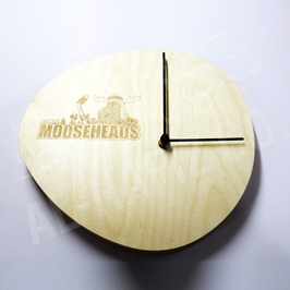 Customize Laser Marked Wooden Clock