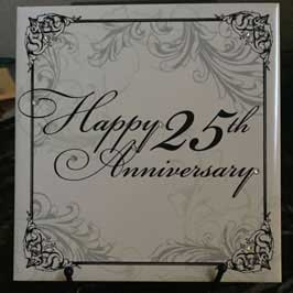 Ceramic Tile - Happy Anniversary