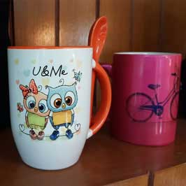 Customized Cups with Spoon - Kids