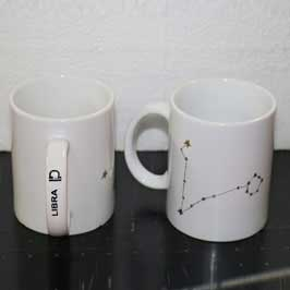 Customized White Cup - Horoscope