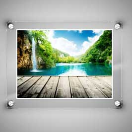 Glass Frame Printing