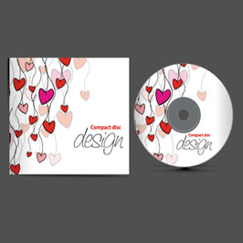 Customized CD Cover & Label Printing White