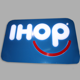 Backlit LED Sign ihop