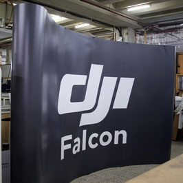 Customized PopUp Banner Falcon