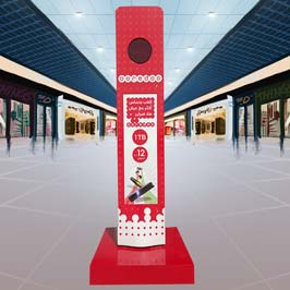 Floor and Counter Display Stands Printing in Kuwait