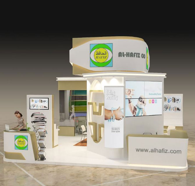 Exhibition Booth Signage : Exhibition booths stand and trade show booth design