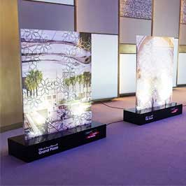 Promotional Event Backdrop Stand