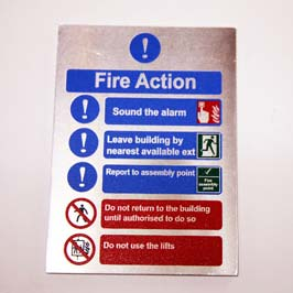 Customized Metal Safety Sign