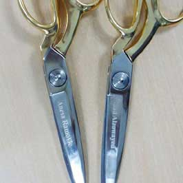 Laser Engraving on Scissors