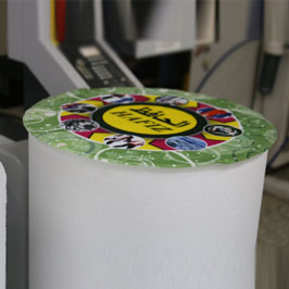 Customized Styrofoam Cut Cylinder