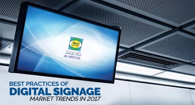 DIGITAL SIGNAGE MARKET TRENDS 2017-2018 in Kuwait