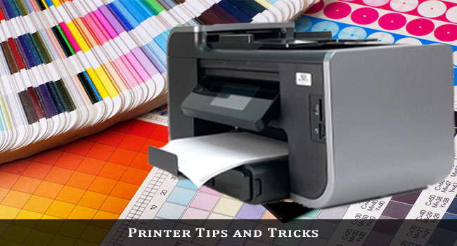 printing tips and tricks