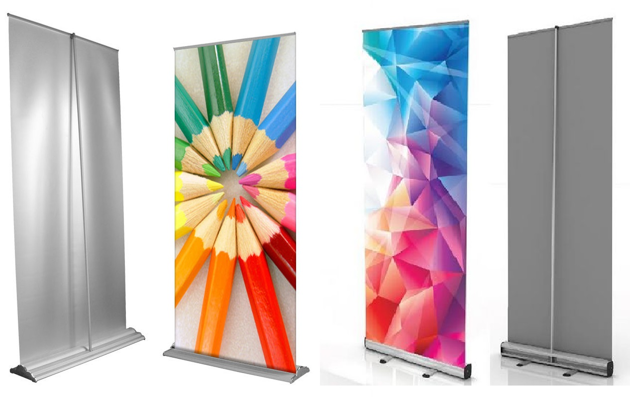 CUSTOM ROLL UP & POP UP BANNER PRINTING