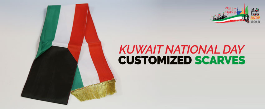Kuwait National Day Scarves