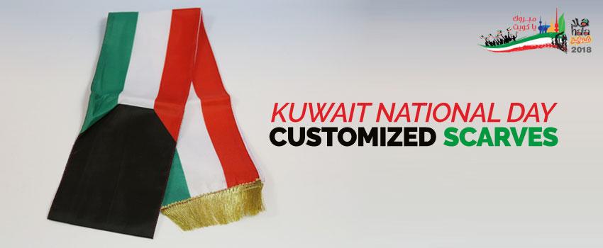 Kuwait National Day Scarves