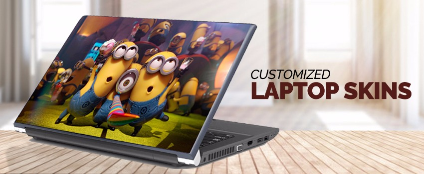 Customized Laptop Skins & Covers in Kuwait