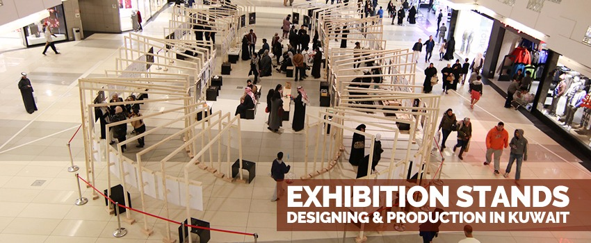 Exhibition Stands Designing & production in Kuwait