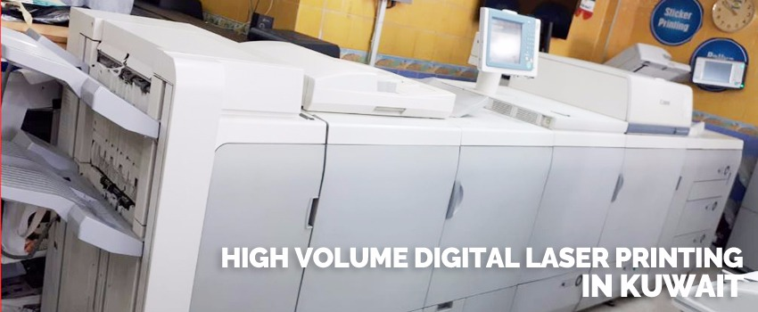 High Volume Digital Laser Printing in Kuwait