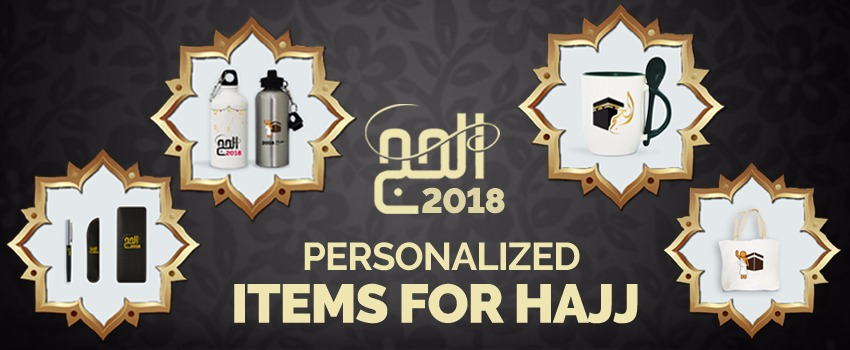 Personalized Items for Hajj