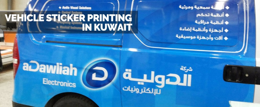 Vehicle Stickers Printing In Kuwait