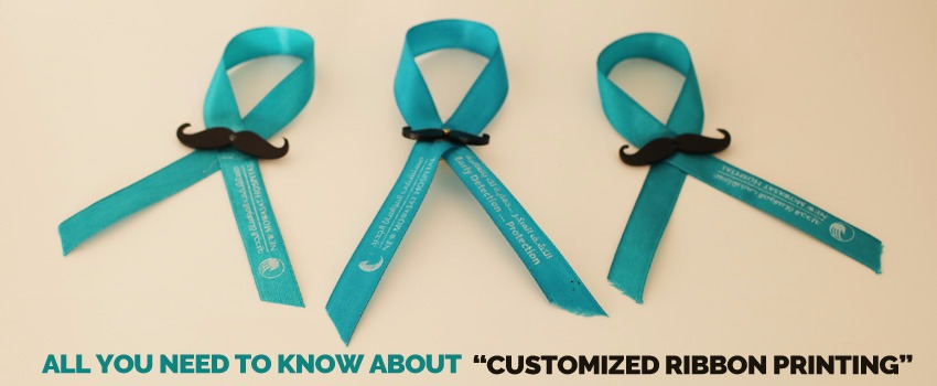 Customized Ribbon Printing