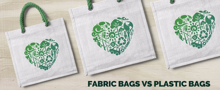 Fabric Bags vs Plastic Bags