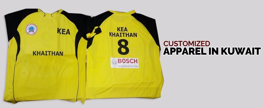 Personalized Apparel in Kuwait