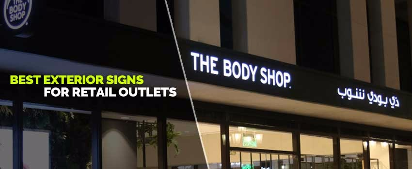 Best Exterior Signs for Retail Outlets