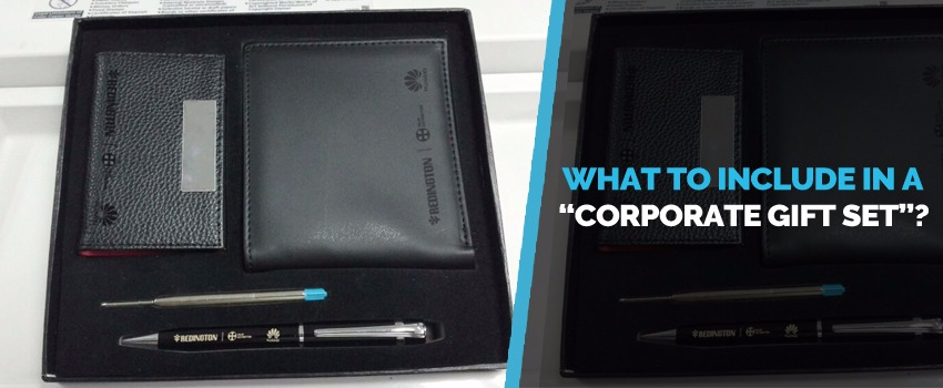 What to Include in a Corporate Gift Set