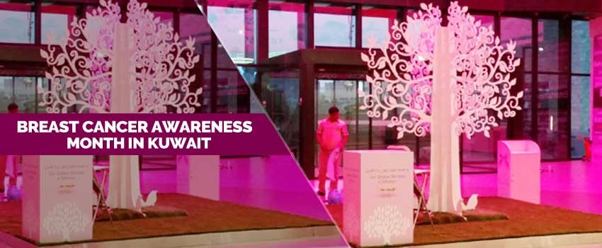 Breast Cancer Awareness month in Kuwait