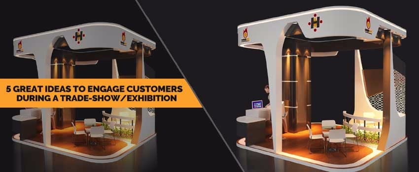 Great Ideas to Engage Customers during a Tradeshow